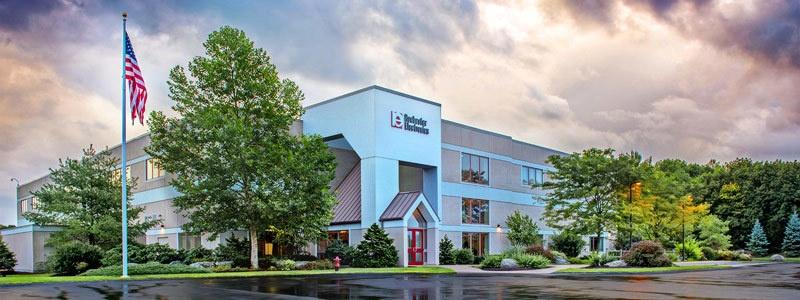 Rochesters Unternehmenszentrale in Newburyport